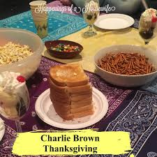 charlie brown thanksgiving dvd happenings of a housewife