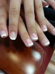 french nail flower design cute french nail lovely kid u0027s