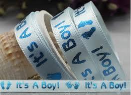 satin ribbon bulk wholesale bulk lot blue it s boy satin ribbon diy baby shower gift