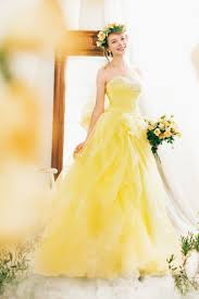 yellow dresses for weddings best 25 yellow wedding dresses ideas on yellow