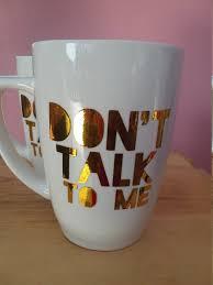 funny coffee mug funny coffee mug coffee mug gold middle finger coffee mug