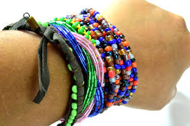 4 ways to make beaded bracelets wikihow