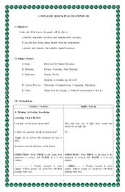 4a u0027s detailed lesson plan in science 3