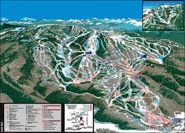Colorado Ski Areas Map by Steamboat Ski Resort