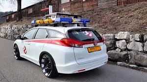 lego honda civic ghostbusters ecto 1 honda civic tourer youtube