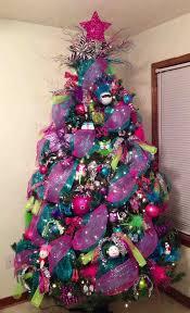 blue and purple christmas tree decorations cheminee website