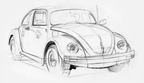 volkswagen bug drawing zeki bismis vw beetle