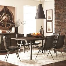 Industrial Dining Room Tables Living Fremont Industrial Dining Table Set Coaster
