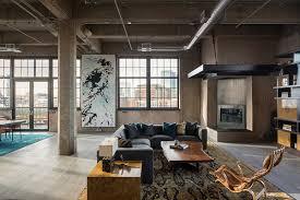 Loft Modern Industrial Loft In Denver With Modern Decor