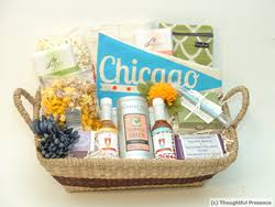 local gift baskets thoughtful presence lines up local artists for custom chicago gift