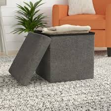 Seagrass Storage Ottoman Seagrass Ottomans Wayfair