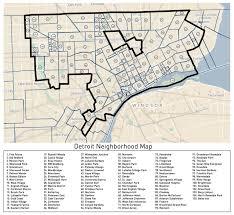 Detroit Michigan Map by Detroit Neighborhood Map Live Detroit