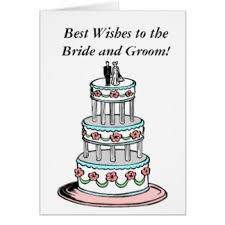 Wishing Bride And Groom The Best Wishes For Bride Groom Greeting Cards Zazzle