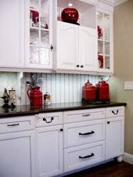 Red Kitchens With White Cabinets Put The Kettle On Treat Your Friends And Family To Tea And Cakes