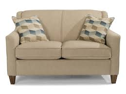 Love Seats Flexsteel Holly Contemporary Love Seat With Welt Cording Dunk