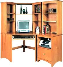Corner Office Desk With Hutch Small Corner Office Desk Atken Me