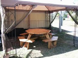 Free Octagon Picnic Table Plans by Octagon Picnic Table Plans Home Decor U0026 Furniture