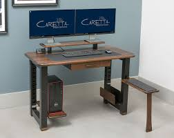 Small Walnut Desk Loft Desk Black Walnut Caretta Workspace