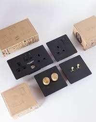 designer dimmer switch double black u0026 gold dimmer switch light