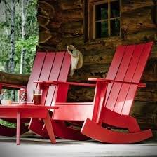 Recycled Plastic Rocking Chairs Adirondack Chairs 10 New Classics For Today Bob Vila