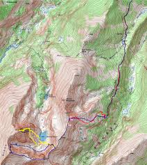 14ers Map Otina U0027s Adventures