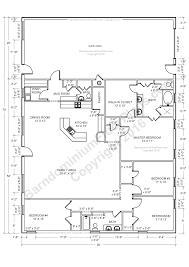 open farmhouse floor plans home design barndominium floor plans open excellent house zhydoor