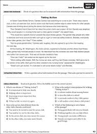 daily reading comprehension grade 6 027016 images rainbow