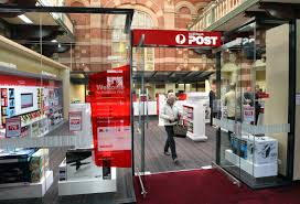 australia post officially opened tasmania u0027s first postal