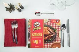 pringles releases thanksgiving dinner made out of chips