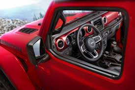 jeep grand cherokee red interior here u0027s the brand new 2018 jeep wrangler jl interior the fast