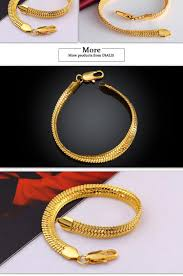 gold bracelet styles images Charming different styles snake chain styles men gold bracelet jpg