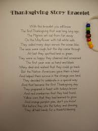 thanksgiving story bracelet add a few biblical excerpts and this