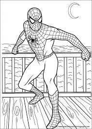 free coloring pages spiderman regard invigorate color