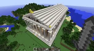 ancient greece u0027s parthenon a minecraft reconstruction u2013 ancient art