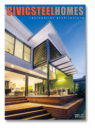 free magazine website civic steel architect designed