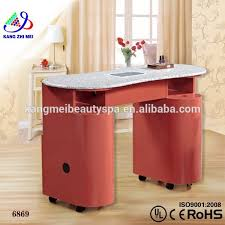 manicure table vacuum and nail salon furniture vented manicure