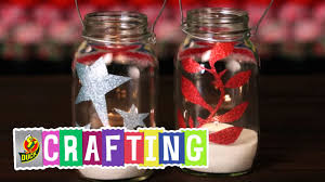 How To Craft A Duct Tape Glitter Jar Youtube
