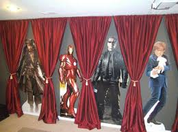 Used Stage Curtains For Sale Curtains For The Basement Walls Theater For The Home Pinterest