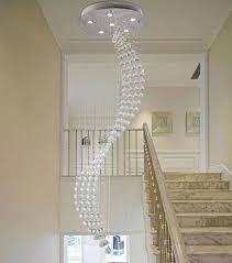 spiral rain drop chandelier modern crystal chandeliers lighting