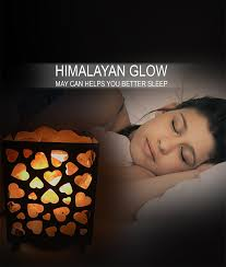 himalayan glow ionic crystal salt basket l himalayan salt nightlight heart basket salt l