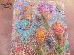 premo fairy flower garden stepping stone sculpeysculpey