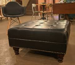 large leather ottoman table home design ideas