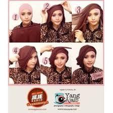tutorial turban sederhana hijab tutorial l jersey scarf youtube hijab style pinterest