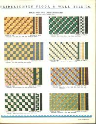 112 patterns of mosaic floor tile in amazing colors friederichsen