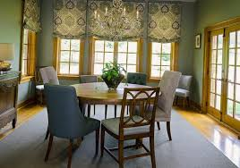 dining room window treatments ideas with dining room window