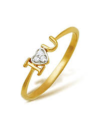 gold diamond rings buy corona 18k yellow gold diamond ring online at low prices in