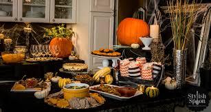 halloween dinner party decorations photo album gothic dinner