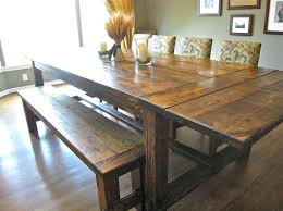 Bench Seat With Table Farmhouse Dining Table And Bench U2013 Mitventures Co