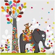 tableaux chambre enfant tableau couleurs vives et dessins ludiques pour chambre enfant thème