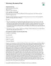 sle business plan recreation center playford enterprises 5 year plan summary business plan 3